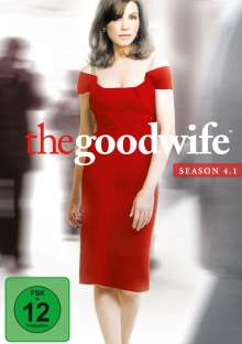 The Good Wife Season 4 Box 1, 3 DVDs