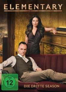 Elementary Season 3, 6 DVDs