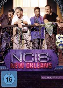 Navy CIS: New Orleans Season 1 Box 1, 3 DVDs