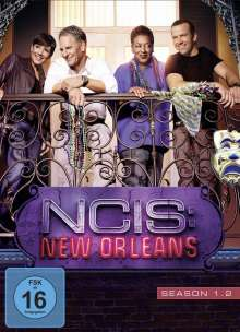 Navy CIS: New Orleans Season 1 Box 2, 3 DVDs