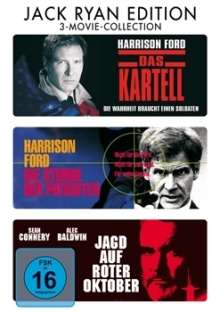 Jack Ryan Edition, 3 DVDs
