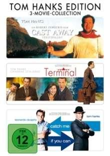 Tom Hanks Edition, 3 DVDs