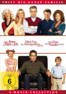 Meine Braut, ihr Vater... / Meine Frau, ihre Schwiegereltern... / Meine Frau, unsere Kinder und ich, 2 DVDs