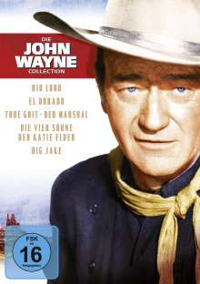 John Wayne Jubiläums-Box, 5 DVDs