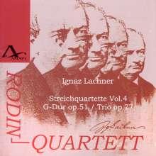 Ignaz Lachner (1807-1895): Sämtliche Streichquartette Vol.4, CD