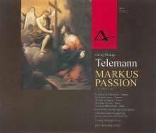 Georg Philipp Telemann (1681-1767): Markus-Passion TWV 5:40 (1755), 2 CDs