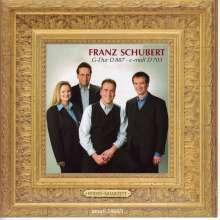 Franz Schubert (1797-1828): Streichquartett Nr.15, CD