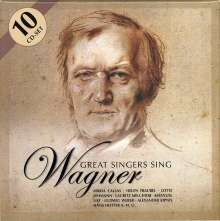 Great Singers sing Wagner, 10 CDs