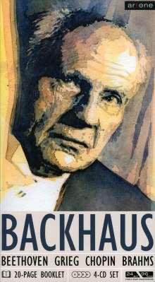 Wilhelm Backhaus,Klavier, 4 CDs