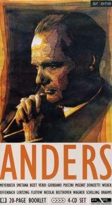 Peter Anders singt Arien & Lieder, 4 CDs