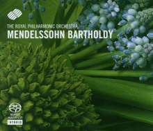 Felix Mendelssohn Bartholdy (1809-1847): Violinkonzert op.64, Super Audio CD