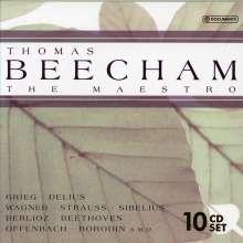 Thomas Beecham - The Maestro, 10 CDs