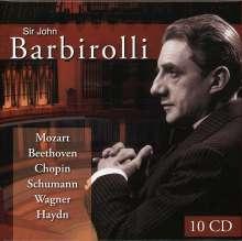 Sir John Barbirolli, 10 CDs