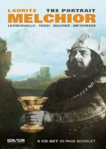 Lauritz Melchior - Porträt, 4 CDs