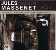 Jules Massenet (1842-1912): Manon, 3 CDs