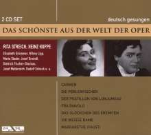 Das Schönste aus der Welt der Oper: Rita Streich / Heinz Hoppe, 2 CDs