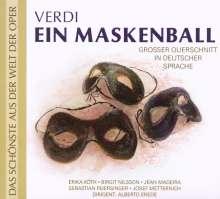 Giuseppe Verdi (1813-1901): Un Ballo in Maschera (Querschnitt in deutscher Sprache), CD