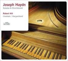 Joseph Haydn (1732-1809): Klaviersonaten H16 Nr.1,5,18,19,44,46, CD