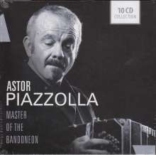 Astor Piazzolla (1921-1992): Master Of The Bandoneon, 10 CDs