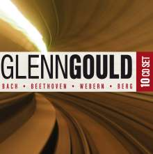 Glenn Gould - Bach/Beethoven/Webern/Berg, 10 CDs