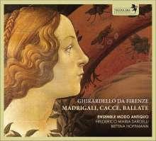 Ghirardello da Firenze (1320-1363): Madrigali, Cacce, Ballate (Codex Squarcialupi), CD