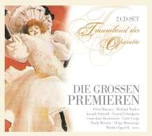 Traumland der Operette - Die großen Premieren, 2 CDs