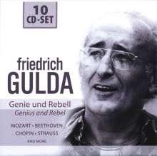 Friedrich Gulda - Genie und Rebell, 10 CDs