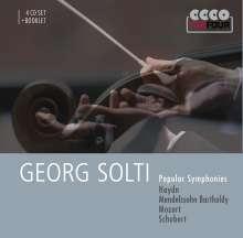 Georg Solti - Popular Symphonies, 4 CDs