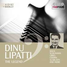 Dinu Lipatti - The Legend, 4 CDs