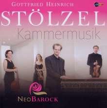 Gottfried Heinrich Stölzel (1690-1749): Kammermusik, CD