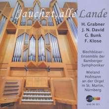 Musik für Orgel & Blechbläser - Jauchzt, alle Lande, CD