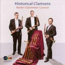 Historical Clarinets, CD