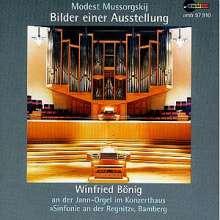 Modest Mussorgsky (1839-1881): Bilder einer Ausstellung (Orgelfassung), CD
