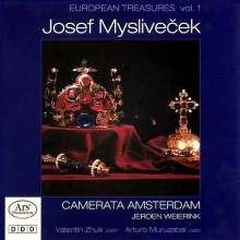 Josef Myslivecek (1737-1781): Violinkonzerte C-Dur & F-Dur, CD