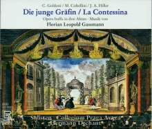 Florian Leopold Gassmann (1729-1774): Die junge Gräfin, 2 CDs