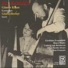Duo Baroque - Kontrabass & Harfe, CD
