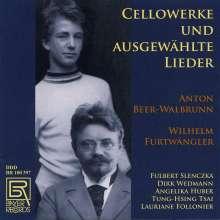 Anton Beer-Walbrunn (1864-1929): Werke mit Cello & Lieder, CD
