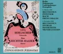 Ludwig Hoelscher,Cello, 2 CDs