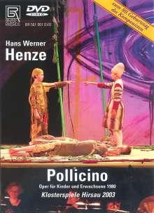Hans Werner Henze (1926-2012): Pollicino (Kinderoper), DVD