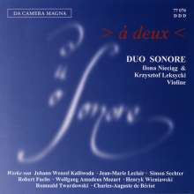 Duo Sonare - A Deux, CD