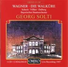 Richard Wagner (1813-1883): Die Walküre (1.Aufzug), CD