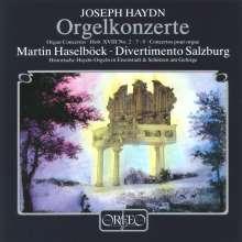 Joseph Haydn (1732-1809): Orgelkonzerte H18 Nr.2,7,8, CD