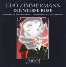 Udo Zimmermann (geb. 1943): Die Weiße Rose (120 g), LP