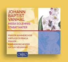 Johann Baptist (Jan Krtitel) Vanhal (1739-1813): Missa solemnis Es-Dur, 2 CDs