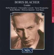 Boris Blacher (1903-1975): Lieder, CD
