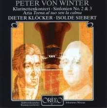 Peter von Winter (1754-1825): Symphonien Nr.2 & 3, CD