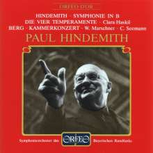 Paul Hindemith (1895-1963): Symphonie in B, CD