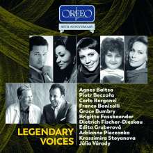 Legendary Voices (Orfeo Edition), 10 CDs