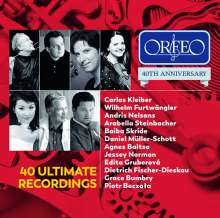 Orfeo - 40th Anniversary (40 Ultimate Recordings), 2 CDs