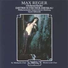 Max Reger (1873-1916): Orchesterlieder (120 g), LP